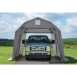 ShelterLogic Barn-style Shelter (Garage 12 x 24 x 9 ft. Barn Standard Grey)