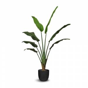 LEPRESENT Ravenala Artificial Faux Botanical - Green - 56 Inch - 56 Inch