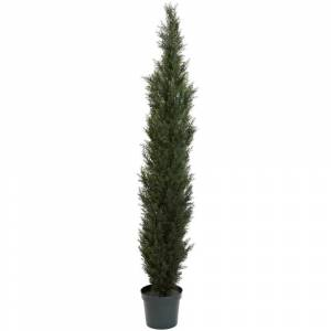 Nearly Natural Mini Cedar Pine Tree (7' Mini Cedar Pine Tree)