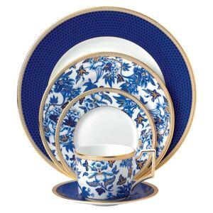Wedgwood Hibiscus Blue and White 5-piece Fine Bone China Place Setting