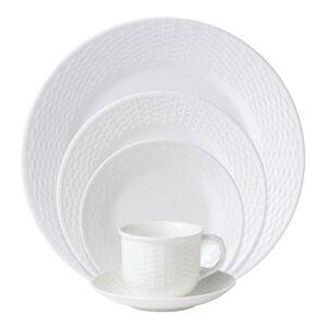 Wedgwood Nantucket Basket White 5-piece Fine Bone China Place Setting