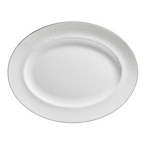 Wedgwood English Lace 13.75-inch Fine Bone China Oval Platter