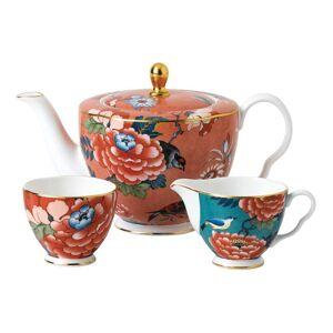 Wedgwood Paeonia Blush 3-piece Fine Bone China Tea Set