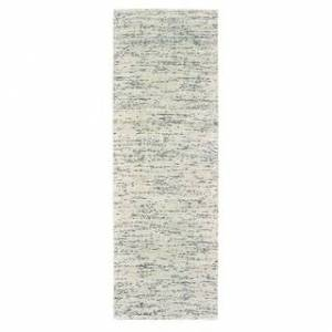 """Tommy Bahama Lucent Shaded Solid Area Rug (Cream/Stone 2'6"""" x 8' Runner)"""