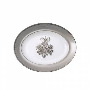 Wedgwood Winter White 14-inch Oval Platter