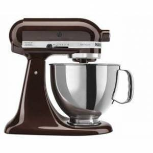 KitchenAid KSM150PS 5-Quart Artisan Tilt-Head Stand Mixer (Espresso)