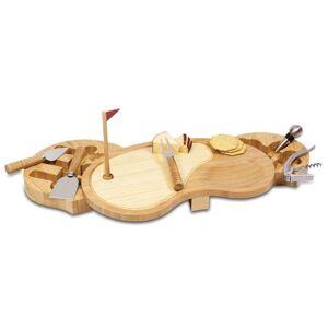 Toscana Picnic Time Sand Trap Cutting Board Set (Natural Wood)