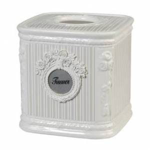 Creative Labs 'Can-Can' Bathroom Accessory Sets (tissue box - Victorian)