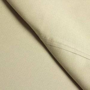Elite Solid Wrinkle Resistant 300 Thread Count Cotton Deep Pocket Sheet Set (Fawn - Sheet Set/Deep Pocket/Wrinkle Resistant/Solid - 4 Piece - California