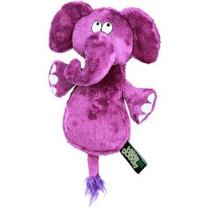 Quaker Pet Products Hear Doggy Elephant Flattie With Chew Guard (Elephant)