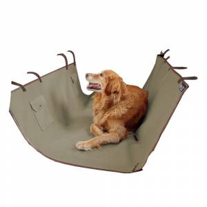 SOLVIT PRODUCTS LP Solvit Waterproof Sta-Put Hammock Seat Cover (Protect your seats & provide comfort for your pet.)