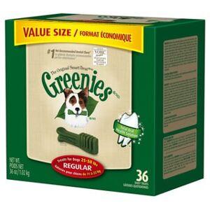 Greenies Canine Dental Chew Treats (36 oz - Reg)