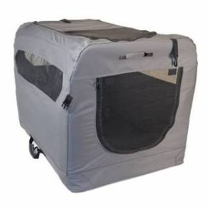 Medium Soft Sided Portable Dog Crate (Medium)