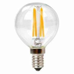 Goodlite LED G16 Clear Acrylic Dimmable Incandescent 60-watt LED Bulbs (Pack of 10) (Super White 5000k)