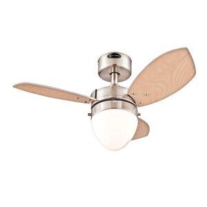 Westinghouse  Ceiling Fan  30 in. W Brushed Nickel
