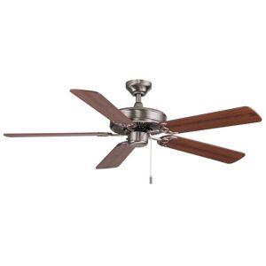 Overstock Dalton Ceiling Fan (White - White - Cream Blades)
