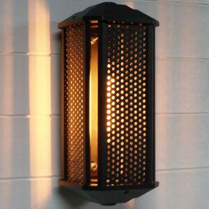 c cattleya Black Mesh Glass 1-light Outdoor Wall Light (Black)