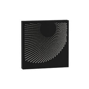 Sonneman Dotwave 15-inch LED Sconce (Textured Black - Square)
