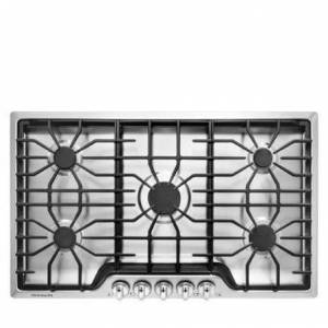 "Frigidaire FFGC3626SS 36"" ADA Compliant Built-In Gas Cooktop (option)"