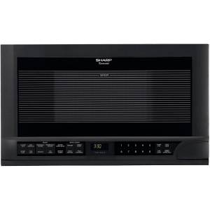 Sharp R-1210 Black 1.5-cu-ft Over-the-counter Microwave (R1210)