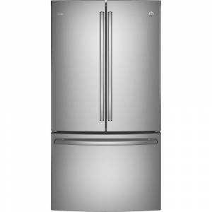 GE PROFILE SERIES ENERGY STAR 23.1 CU. FT. COUNTER-DEPTH FRENCH-DOOR REFRIGERATOR (Stainless Steel)