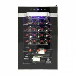 Element by Vinotemp 45-Bottle Single Zone Wine Cooler (Black)