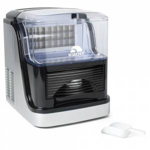 Igloo ICEC33SB 33-Pound Large Capacity Automatic Clear Ice Cube Maker