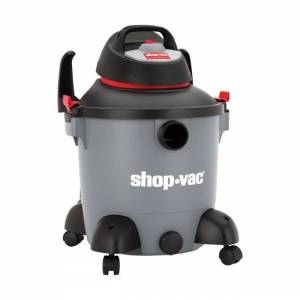 Shop-Vac  8 gal. Corded  Wet/Dry Vacuum  9.8 amps 120 volt 4 hp Gray  14 lb. (Wet & Dry - Carpet - For Allergy Sufferers - Corded - Assembled - Multi)