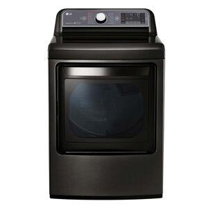 LG Black Stainless Steel 7.3-cubic foot 27-inch Electric Dryer (DLEX7600KE)