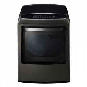LG DLGY1902KE 7.3 cu. ft. Ultra Large Capacity Front Control Gas Dryer with EasyLoad™ Door in Black Stainless Steel (DLGY1902KE)