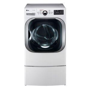 LG DLGX8101W 9.0 cu. ft. Mega Capacity Gas Dryer w/ Steam? Technology in White