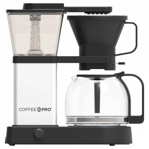 Coffee Pro CP-CB-SPC-001 Coffee Brewer Coffee Pro Specialty Unit - Commercial (Black/Clear)