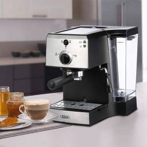 Overstock Black Espresso Maker and Cappuccino Machine