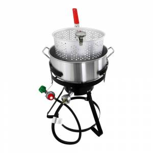 Chard FFPA105 10.5-Qt Fish & Wing Fryer (Stainless Steel)