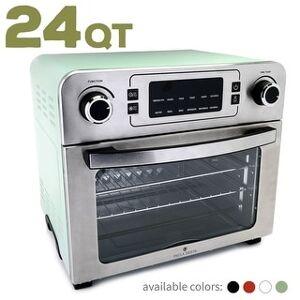 Paula Deen 24 QT (1700 Watt) Jumbo Party-Size Air Fryer Oven (White)