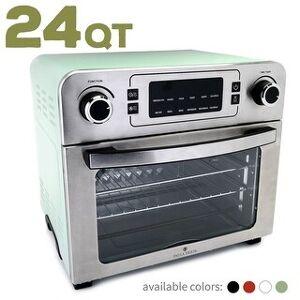 Paula Deen 24 QT (1700 Watt) Jumbo Party-Size Air Fryer Oven (Mint)