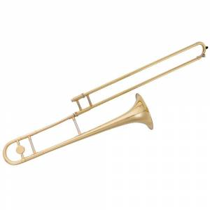 Overstock Gymax B Flat Trombone Gold Brass with Mouthpiece Case Gloves for Beginners Students