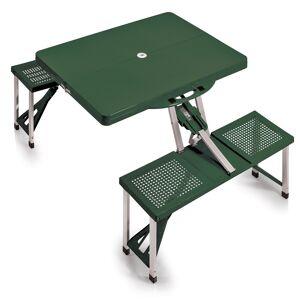 Oniva Picnic Time Hunter Green Folding Table with Seats (Folding Table with Seats)
