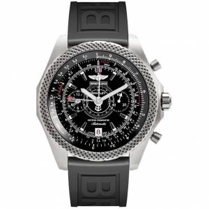 Breitling Men's E2736522-BC63 'Bentley' Automatic Chronograph Black Rubber Watch (Breitling Men's E2736522-BC63 Rubber)
