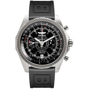 Breitling Men's E2736522-BC63 'Bentley' Automatic Chronograph Black Rubber Watch (Breitling Men's E2736522-BC63 Rubber)
