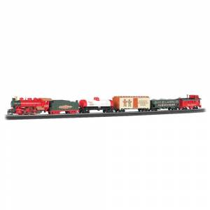 Bachmann Jingle Bell Express HO Scale Ready To Run Electric Train Set (G022899007243)