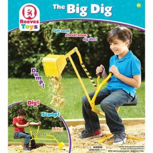 Reeves Toys Big Dig Ride-on Working Crane (G019756001001)