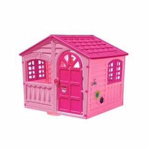 Pal Play House of Fun - 51in L x 43in W x 45in H - 51in L x 43in W x 45in H (Pink)