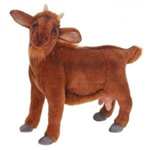 Hansa Brown Goat Plush Toy (1)