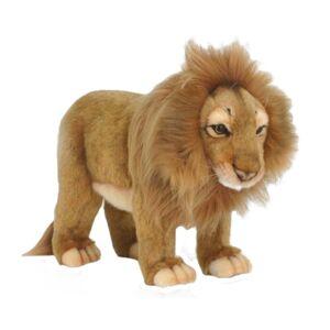 Hansa Standing Male Lion Plush Toy (1)
