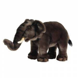 Hansa 12 Inch Plush Asia Elephant (1)