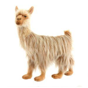 Hansa 17 Inch Plush Bull Llama (1)