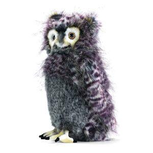 Hansa 14 Inch Plush Grey Bubo Owl (1)