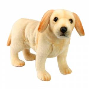 Hansa 14 Inch Plush Labrador Puppy (1)