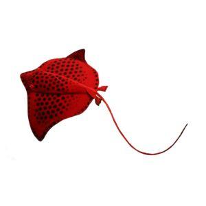 Hansa 20 Inch Plush Red Stingray (1)